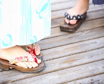 下駄の靴ずれを防ぐためにやっておくべきこと