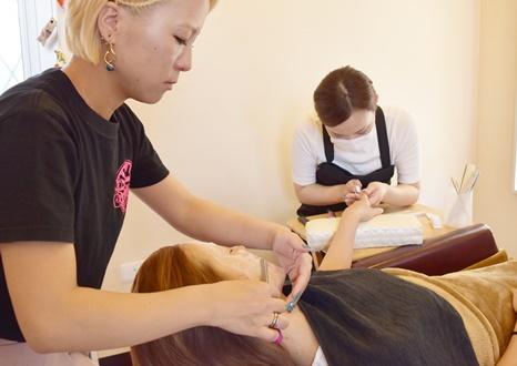 眠れるお顔そりがある理美容室 Hair salon Sunrise ヘアーサロン サンライズ 妙寺店/中飯降駅